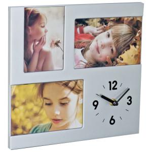 Ceas de perete cu suport foto