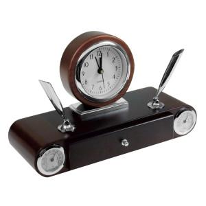Set de birou cu ceas